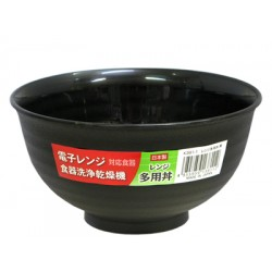 Rice bowl black
