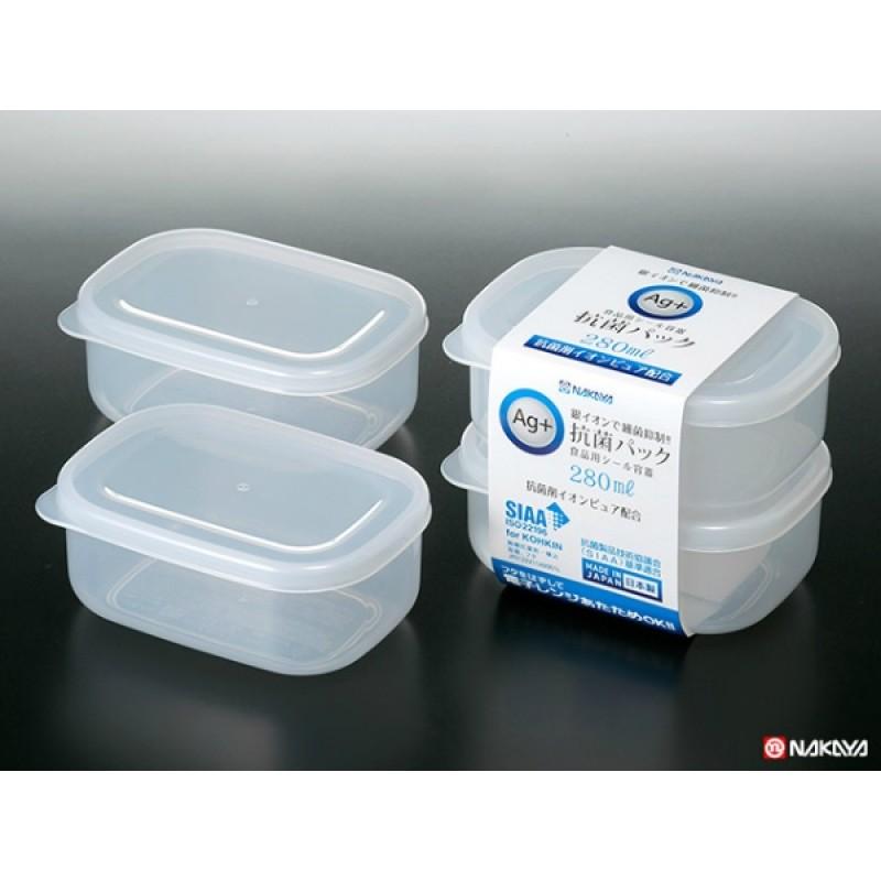 Antibacterial food storage pack 280 ml 2pcs