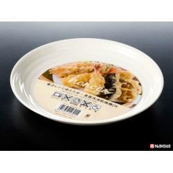 Round plate white 640ml