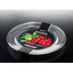 Transparent Fruit dish shallow type