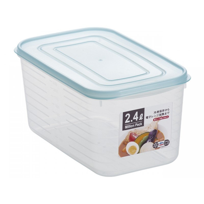 Storage Box 2.4L Blue