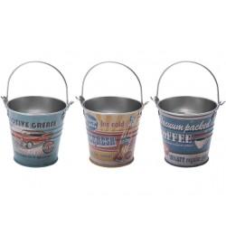Brick bucket retro american