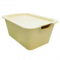 Plain Box Medium Ivory