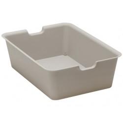 Plain box large light gray