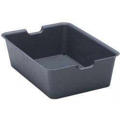 Plain box large black