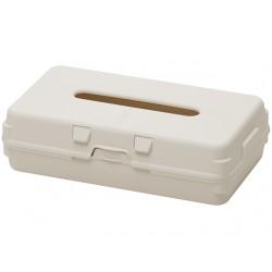Tissue box (ivory)