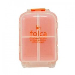 Pill Case Orange