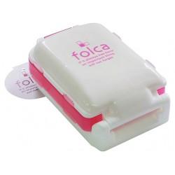 Pill Case Three Layers Pink