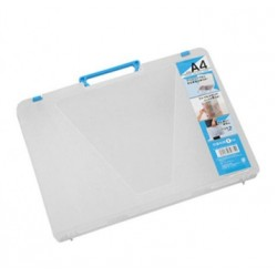 A4 File Case Blue