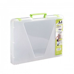 A4 File Case Green