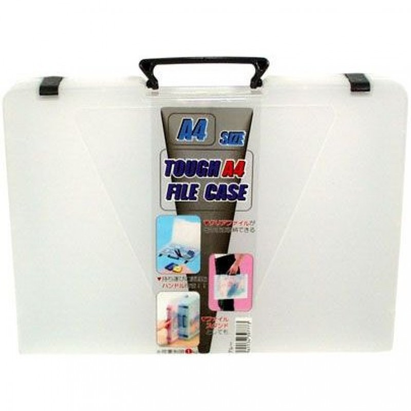 A4 File Case Black