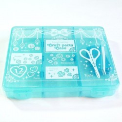 Craft part case middle blue