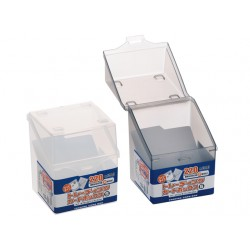 Trading card box Small clear