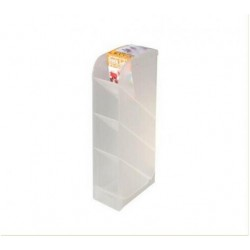 Stationery holder Shelf Clear
