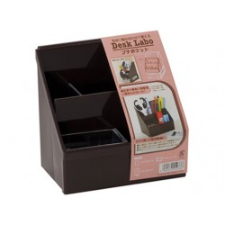 Petit pocket storage box brown