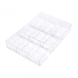 Handy utensils tray 9 squares