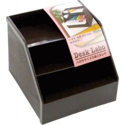 Stationery box 3-stage Stand brown
