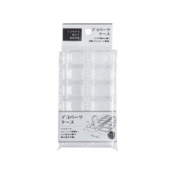 Decoration parts case clear