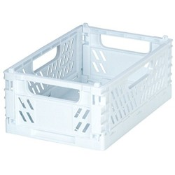 Folding container white