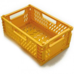 Folding container yellow