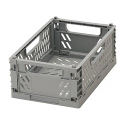 Folding container gray