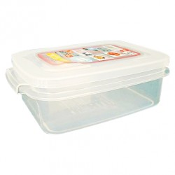 Food container shallow microwavable