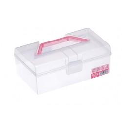 Tough box wide pink
