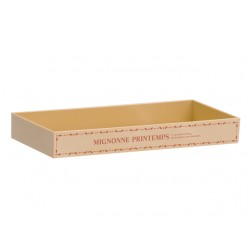 Wood style garden tray shallow