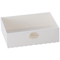 Storage Tray Large white