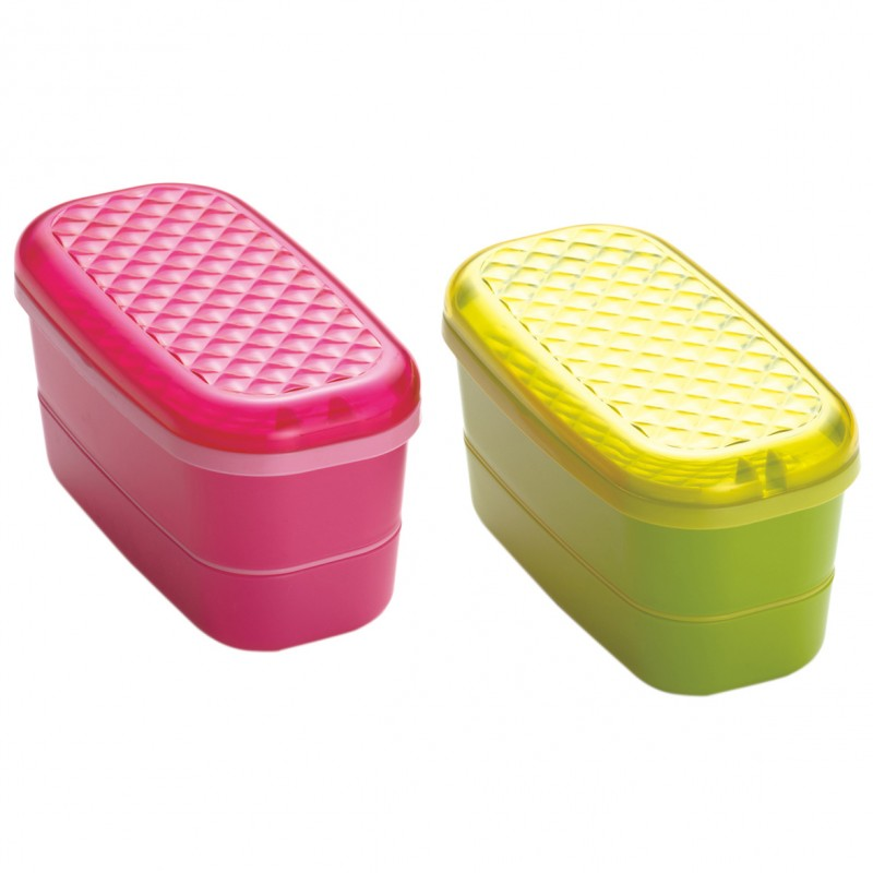 Jewel lunchbox 2 tiered