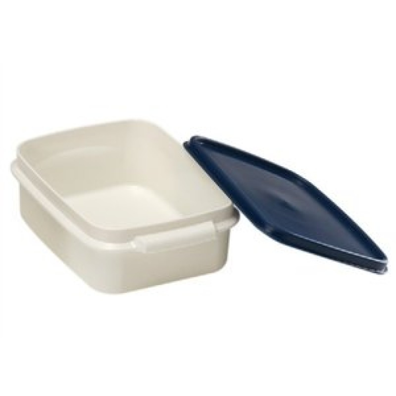 Lunchbox sealed deep type blue