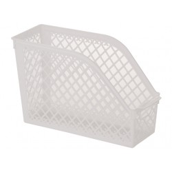 A4 Basket case stand white