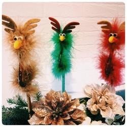 Christmas Bird Pen