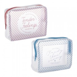Clear Mesh Pouch 130 × 170 x 45mm
