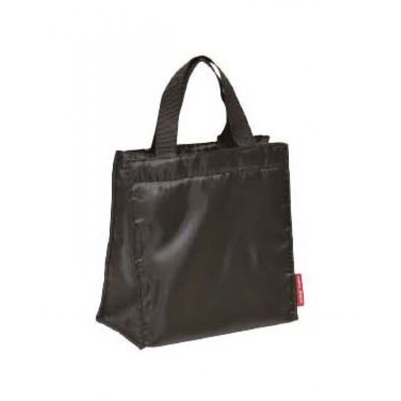 SQUARE TOTE BAG BLACK 170 x 170 x 100mm