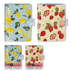 Card holder fruit 16 pockets