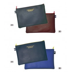 Bicolor pouch hot stamp 170 x 255 mm