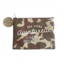 Camouflage free case L 16 cm x 21 cm