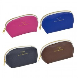 Synthetic leather type mini pouch 70 x 140 x 45mm