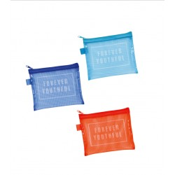 Flat pouch small colorful mesh 130 x 160 mm
