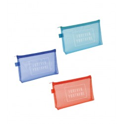 Free Case Gusseted Colorful Mesh 130 × 215 mm