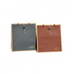 Color craft paper bag M 240 x 220 x 110mm