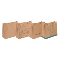 Paper bag L Horizontal Craft 270 x 300 x 120mm