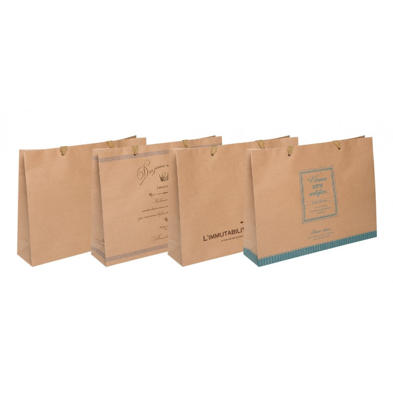 Paper bag horizontal LL 320 x 420 x 100mm