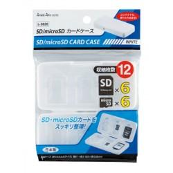 L-8826/WH SD/micro SD card case WH 4973430003476