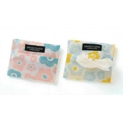 Pocket tissue case Norden flower