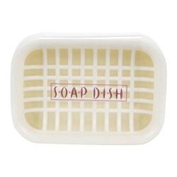 Fiber soap box Ivory