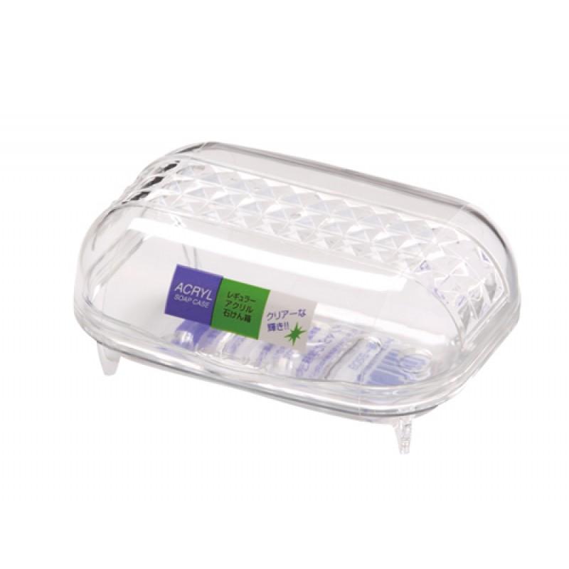 Regular acrylic soap box clear