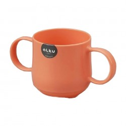 Baby Colorful Cup with Handle Pink 1172