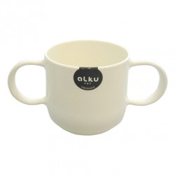 Baby Colorful Cup with Handle White 1172